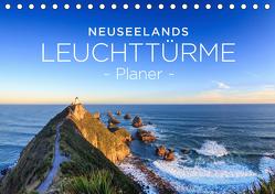Neuseelands Leuchttürme – Planer (Tischkalender 2020 DIN A5 quer) von Franz Schmidt und Sylvia Nafe,  Christian