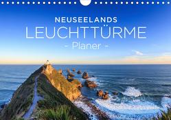 Neuseelands Leuchttürme – Planer (Wandkalender 2020 DIN A4 quer) von Franz Schmidt und Sylvia Nafe,  Christian