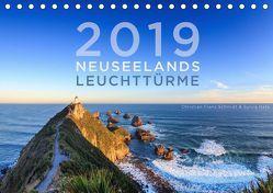 Neuseelands Leuchttürme (Tischkalender 2019 DIN A5 quer) von Franz Schmidt,  Christian