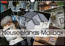 Neuseelands Mailbox (Wandkalender 2018 DIN A4 quer) von Flori0,  k.A.