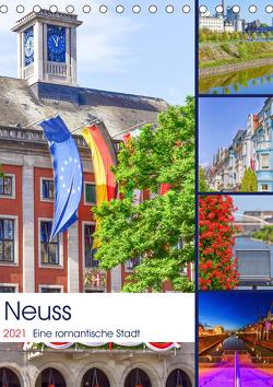 Neuss – Eine romantische Stadt (Tischkalender 2021 DIN A5 hoch) von Hackstein,  Bettina