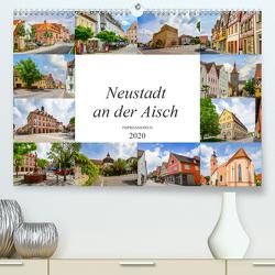 Neustadt an der Aisch Impressionen (Premium, hochwertiger DIN A2 Wandkalender 2020, Kunstdruck in Hochglanz) von Meutzner,  Dirk
