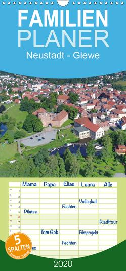 Neustadt-Glewe – Familienplaner hoch (Wandkalender 2020 , 21 cm x 45 cm, hoch) von Rein,  Markus