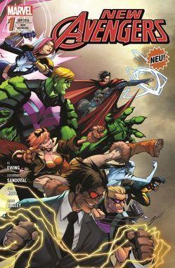 New Avengers von Ewing,  Al, Sandoval,  Gerardo