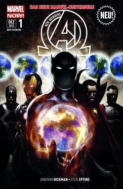 New Avengers – Marvel Now! von Epting,  Steve, Hickman,  Jonathan, Magyar,  Rick