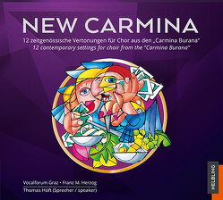 New Carmina – CD – Audio-CD von Herzog,  Franz, Vocalforum Graz