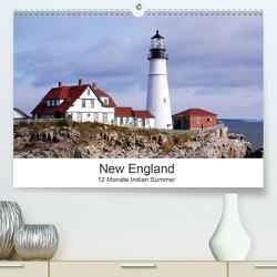 New England – 12 Monate Indian Summer (Premium, hochwertiger DIN A2 Wandkalender 2021, Kunstdruck in Hochglanz) von Eickhoff,  Markus