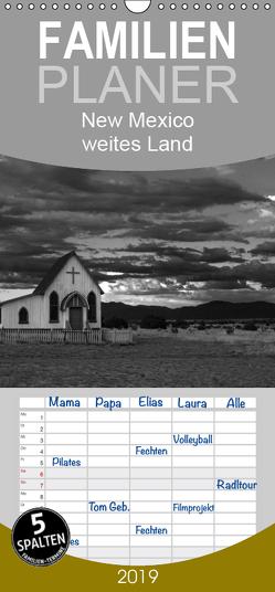 New Mexico – weites Land – Familienplaner hoch (Wandkalender 2019 , 21 cm x 45 cm, hoch) von duMont,  Isabelle