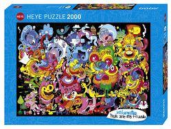 New Psychedoodlic Puzzle von Burgerman,  Jon