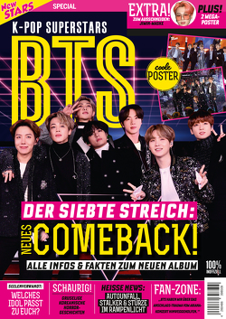 New Stars Special K-Pop Superstars BTS – DER SIEBTE STREICH: NEUES COMBACK! von Buss,  Oliver