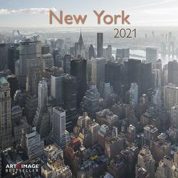 New York 2021 – Wand-Kalender – Broschüren-Kalender – A&I – 30×30 – 30×60 geöffnet
