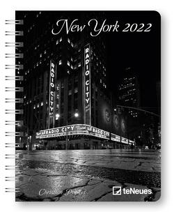 New York 2022 – Diary – Buchkalender – Taschenkalender – 16,5×21,6 von Popkes,  Christian