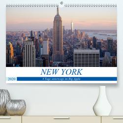 New York – 4 Tage unterwegs im Big Apple (Premium, hochwertiger DIN A2 Wandkalender 2020, Kunstdruck in Hochglanz) von Dorn,  Markus