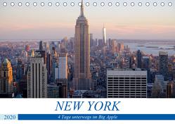 New York – 4 Tage unterwegs im Big Apple (Tischkalender 2020 DIN A5 quer) von Dorn,  Markus