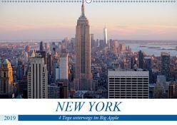 New York – 4 Tage unterwegs im Big Apple (Wandkalender 2019 DIN A2 quer) von Dorn,  Markus