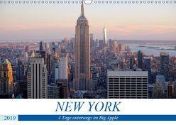 New York – 4 Tage unterwegs im Big Apple (Wandkalender 2019 DIN A3 quer) von Dorn,  Markus