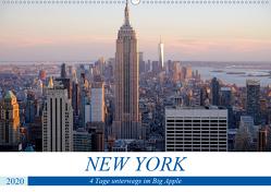 New York – 4 Tage unterwegs im Big Apple (Wandkalender 2020 DIN A2 quer) von Dorn,  Markus