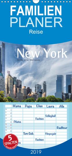 New York – Bilder einer Metropole – Familienplaner hoch (Wandkalender 2019 , 21 cm x 45 cm, hoch) von calmbacher,  Christiane