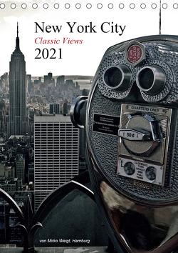New York City 2021 • Classic Views (Tischkalender 2021 DIN A5 hoch) von Mirko Weigt,  ©