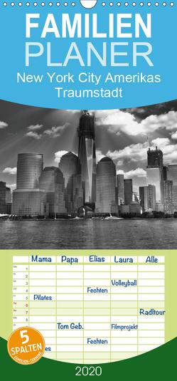 New York City Amerikas Traumstadt – Familienplaner hoch (Wandkalender 2020 , 21 cm x 45 cm, hoch) von Wulf,  Guido
