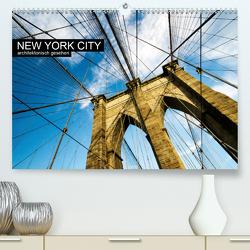 New York City, architektonisch gesehen (Premium, hochwertiger DIN A2 Wandkalender 2020, Kunstdruck in Hochglanz) von Grossbauer,  Sabine