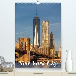 New York City / CH-Version (Premium, hochwertiger DIN A2 Wandkalender 2021, Kunstdruck in Hochglanz) von Klinder,  Thomas
