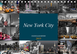 New York City – Color Glam Edition (Tischkalender 2019 DIN A5 quer) von Krause,  Kurt