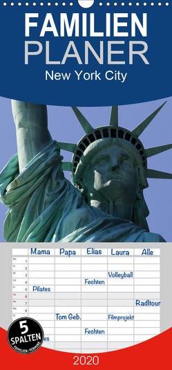 New York City – Familienplaner hoch (Wandkalender 2020 , 21 cm x 45 cm, hoch) von Stehlik,  Peter