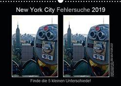 New York City Fehlersuche 2019 (Wandkalender 2019 DIN A3 quer) von © Mirko Weigt,  Fotos, Hamburg