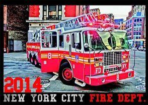 New York City Fire Depart. 2014 von Graupe,  Reiner
