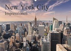 New York City Impressionen / Geburtstagskalender (Wandkalender 2018 DIN A2 quer) von Aatz,  Markus