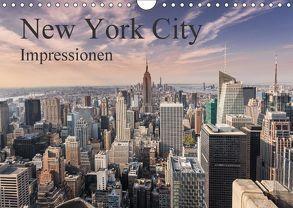 New York City Impressionen (Wandkalender 2018 DIN A4 quer) von Aatz,  Markus