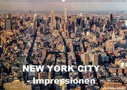 New York City – Impressionen (Wandkalender 2019 DIN A2 quer) von Poller,  Stephan