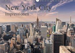 New York City Impressionen (Wandkalender 2019 DIN A3 quer) von Aatz,  Markus