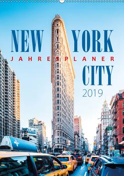 New York City Jahresplaner 2019 (Wandkalender 2019 DIN A2 hoch) von Kilmer,  Sascha