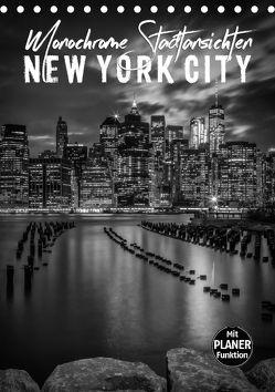 NEW YORK CITY Monochrome Stadtansichten (Tischkalender 2018 DIN A5 hoch) von Viola,  Melanie