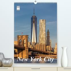 New York City (Premium, hochwertiger DIN A2 Wandkalender 2020, Kunstdruck in Hochglanz) von Klinder,  Thomas