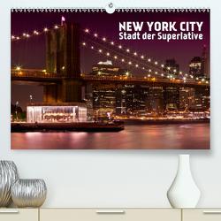 NEW YORK CITY Stadt der Superlative (Premium, hochwertiger DIN A2 Wandkalender 2021, Kunstdruck in Hochglanz) von Viola,  Melanie