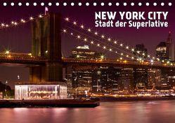 NEW YORK CITY Stadt der Superlative (Tischkalender 2019 DIN A5 quer) von Viola,  Melanie
