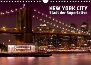 NEW YORK CITY Stadt der Superlative (Wandkalender 2019 DIN A4 quer) von Viola,  Melanie