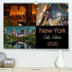 New York City Vibes (Premium, hochwertiger DIN A2 Wandkalender 2020, Kunstdruck in Hochglanz) von Krause,  Kurt