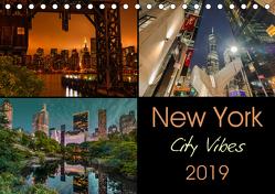 New York City Vibes (Tischkalender 2019 DIN A5 quer) von Krause,  Kurt