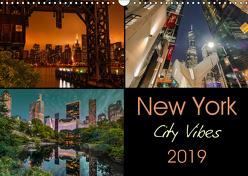 New York City Vibes (Wandkalender 2019 DIN A3 quer) von Krause,  Kurt