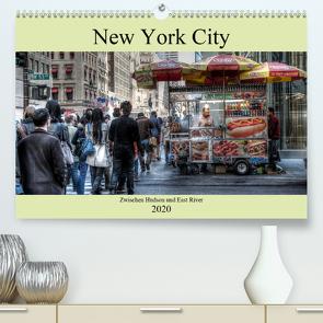 New York City – Zwischen Hudson und East River (Premium, hochwertiger DIN A2 Wandkalender 2020, Kunstdruck in Hochglanz) von Härlein,  Peter