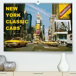 New York Classic Cabs (Premium, hochwertiger DIN A2 Wandkalender 2020, Kunstdruck in Hochglanz) von Freiwah Oldtimer-Art.de,  Tom