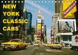 New York Classic Cabs (Tischkalender 2019 DIN A5 quer) von Freiwah Oldtimer-Art.de,  Tom