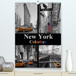 New York Colorkey (Premium, hochwertiger DIN A2 Wandkalender 2021, Kunstdruck in Hochglanz) von Buchspies,  Carina