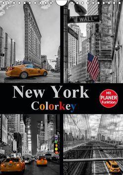 New York Colorkey (Wandkalender 2019 DIN A4 hoch) von Buchspies,  Carina