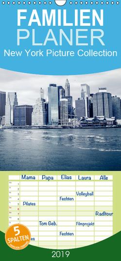 New York – Familienplaner hoch (Wandkalender 2019 , 21 cm x 45 cm, hoch) von Edel-One