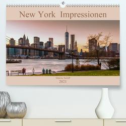 New York Impressionen 2021 (Premium, hochwertiger DIN A2 Wandkalender 2021, Kunstdruck in Hochglanz) von Sielaff,  Marcus